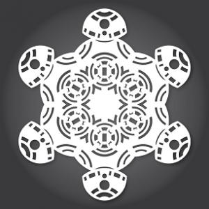 BB-8 Snowflake